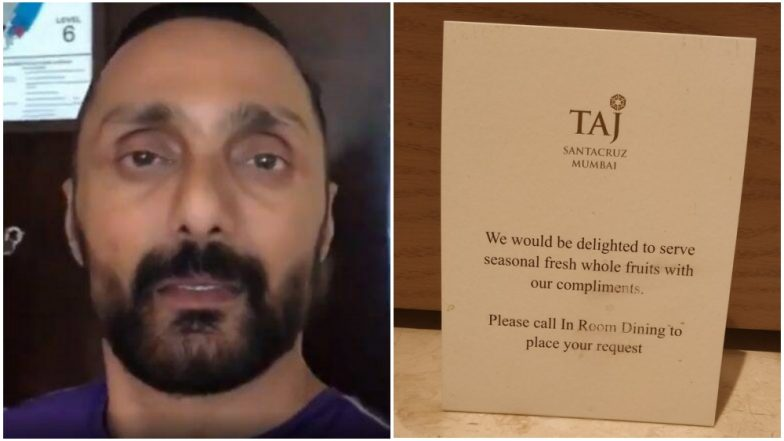 Rahul Bose's Viral Video on Banana Bill Prompts Taj Hotels to Offer Free Fruits to the Guests, Twitterati Lauds the Move