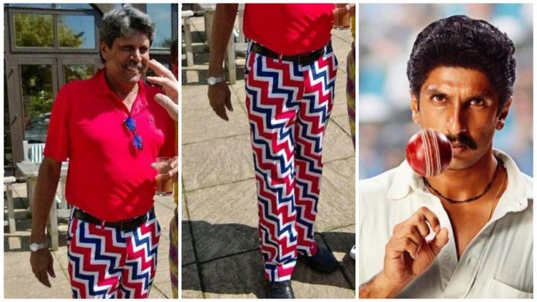 Kapil Dev's Funky Pants Make Everyone Crack the Same Joke about a Ranveer Singh Biopic