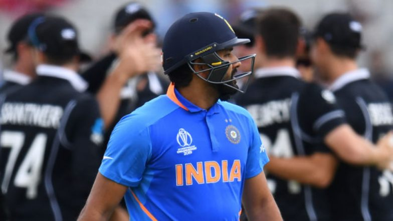 Rohit Sharma Has a Heartfelt Message for Fans After Team India's Exit From Cricket World Cup 2019, Says 'We Failed To Deliver When It Mattered'