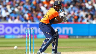MS Dhoni and Kedar Jadhav Tried But Wicket Got Pretty Slow Says Rohit Sharma After India's Defeat Against England