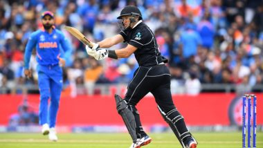India vs New Zealand CWC 2019 Semi-Final: Ravindra Jadeja's Sharp Fielding Restricts Kiwis to 239