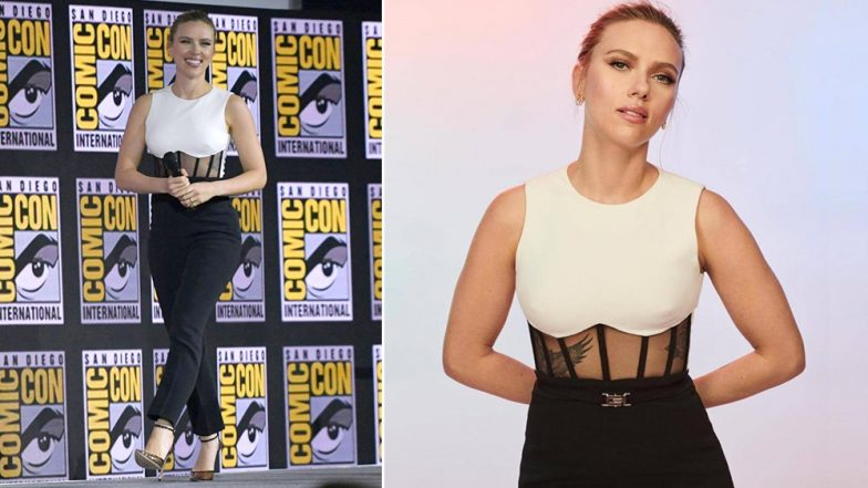 Cop or Drop: Scarlett Johansson in David Koma Jumpsuit