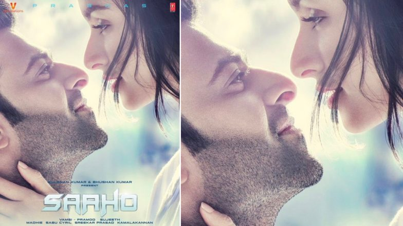 Saaho: Prabhas and Shraddha Kapoor Have Eyes Only for Each Other in this New Poster - View Pic