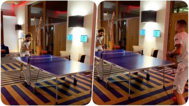 Mohamed Salah Beats Dejan Lovren in Table Tennis; Luka Modric and Gini Wijnaldum Troll the Liverpool Defender (View Pic)