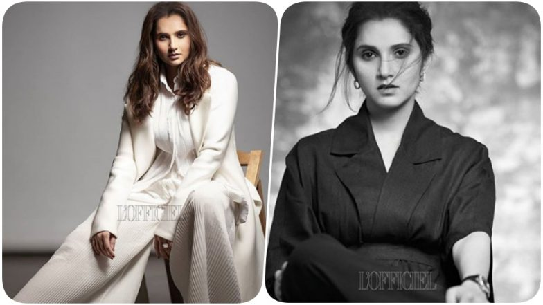 Sania Mirza Gives Boss Lady Vibes on L'Officiel India Magazine Cover, Tennis Star Shares Stylish Pic on Instagram