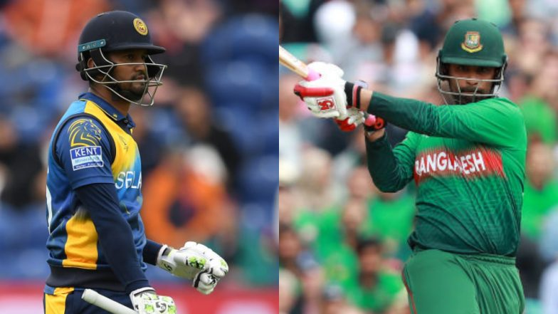 Sri Lanka vs Bangladesh 2019 Schedule: Full Time Table With Fixtures, Dates, Match Timings and Venue Details of SL vs BAN ODI Series