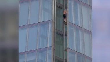 Daredevil Free Climber Takes on London's The Shard Without Safety Harness, Watch Video.