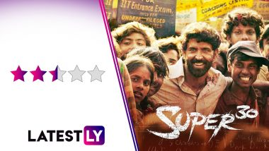 Super 30 Movie Review: Hrithik Roshan Is Sincere but Unconvincing in This Formulaic Take On Maths Genius Anand Kumar's Life