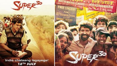 Super 30 Box Office Collection Day 24: Hrithik Roshan Starrer Eyeing to Surpass the Lifetime Business of Ranveer Singh's Gully Boy, Rakes in Rs 137.93 Crore