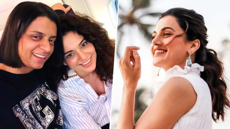 Taapsee Pannu Reacts to Rangoli Chandel Calling her Kangana Ranaut's 'Sasti Copy'