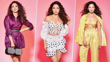 Tamannaah's Latest Photoshoot for FHM India is Simple Yet Glamorous - View Pics