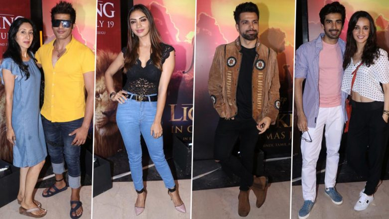 The Lion King: Sanaya Irani-Mohit Sehgal, Karanvir Bohra-Teejay, Rithvik Dhanjani, Pooja Banerjee and Others Attend the Grand Premiere (View Pics)