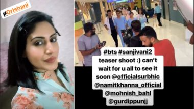Sanjivani 2: Surbhi Chandna Teases Fans With A Jhalak Into The Promo Shoot!