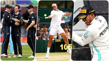 Cricket World Cup 2019, Wimbledon Final and British GP Leave Fans Spoilt For Choices; Watch Sporting Events on Different Devices