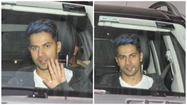 Varun Dhawan Colours His Hair Blue and He Is Not Looking 'Sweet, Innocent, Swami Type Ka' - See Pics
