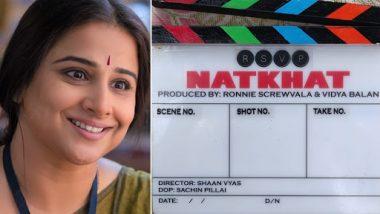 Mission Mangal Actress Vidya Balan to Star and Produce Her Debut Short Film Natkhat – View Post