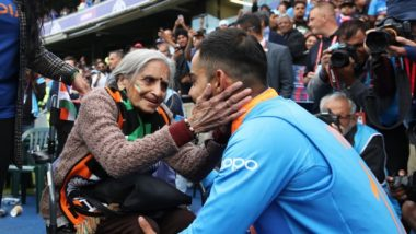 Virat Kohli to Arrange Tickets for 87-Year-Old Fan Charulata Patel for Remaining Indian Matches of CWC 2019