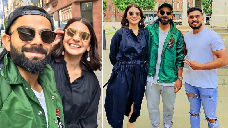Anushka Sharma and Virat Kohli Look Cute As They Pose On UK Streets- View Pics