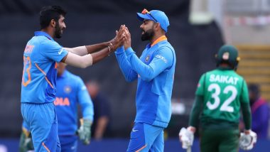 Virat Kohli, Jasprit Bumrah Maintain Top Spots in ICC ODI Rankings