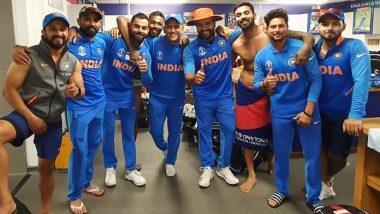 Pics From Team India Dressing Room Post Bangladesh Win in ICC CWC 2019 Will Make You Shout 'Come on India'