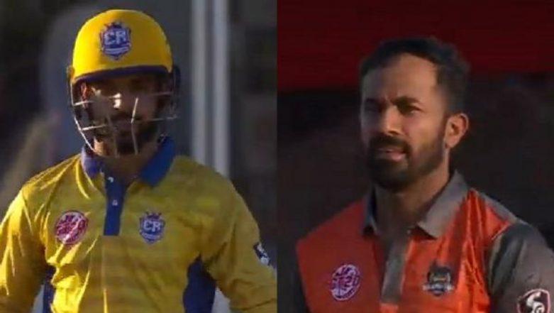Wahab Riaz, Shadab Khan's Conversation During Edmonton Royals vs Brampton Wolves Global T20 Canada 2019 Match is Quite Interesting, Watch Video