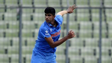 IND vs BAN T20I 2019 Series: Washington Sundar Confident India Can Secure Series in Nagpur Against Bangladesh