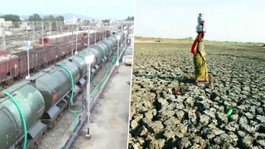 Tamil Nadu Water Crisis: Train Carrying Water to Reach Parched Chennai in Afternoon, Says Railways