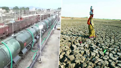 Chennai Drought: Water Train From Jolarpet in Vellore to Reach Southern Metropolitan on Friday, Respite Expected for Ailing Residents