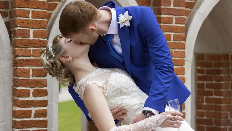 Kissing Menu! Couple Slammed For Keeping List of 'Things to Do' For Wedding Guests to See The Bride and Groom Kiss