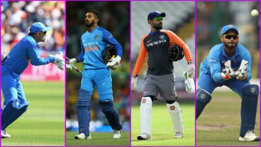 Four Wicket-Keepers, MS Dhoni, KL Rahul, Dinesh Karthik and Rishabh Pant, in India's Playing XI Against Bangladesh Amaze Twitterati, Check Funny Memes and Reactions