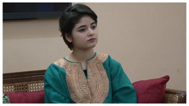 Zaira Wasim's Account Was NOT Hacked, Clarify the Actress and Her Manager Tuhin Mishra