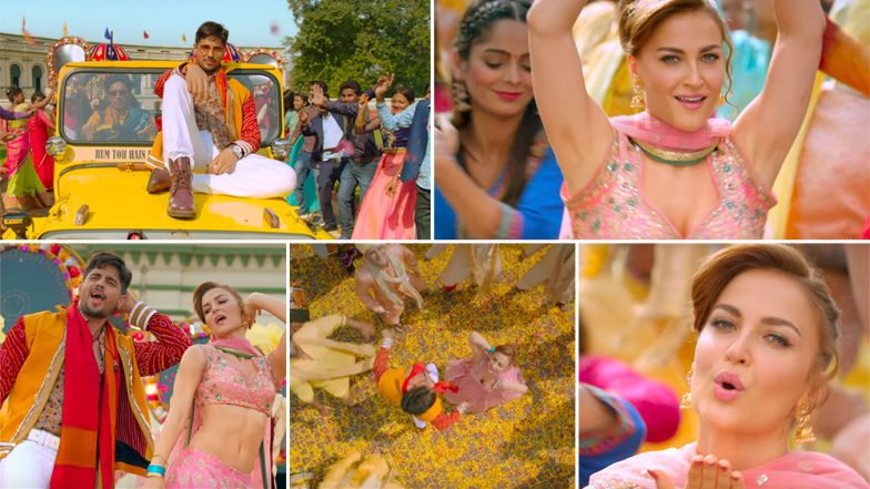 Jabariya Jodi Song Zilla Hilela: Sidharth Malhotra and Elli AvrRam Groove to This Rustic Number – Watch Video