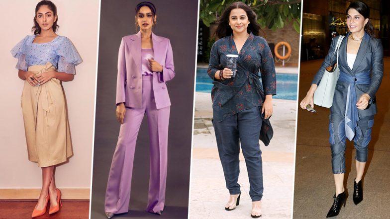 Jacqueline Fernandez, Vidya Balan and Mrunal Thakur - Check out the Fashion Blunders of this Week (View Pics)