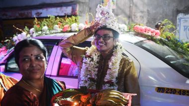 Indian Transgender Couple Gets Married in Emotional Rainbow Wedding