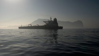 Iran Oil Supertanker 'Grace 1' Sails off Gibraltar With Indian Crew
