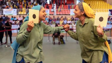 Saand Ki Aankh New Still Has Taapsee Pannu and Bhumi Pednekar Celebrating in Sheer Joy!