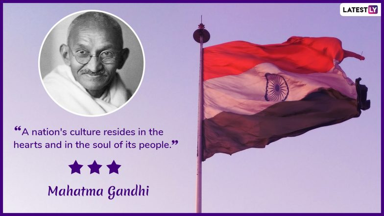 Indian Independence Day 2019 Patriotic Quotes: Popular Sayings by National Heroes to Celebrate 73rd Independence Day of India