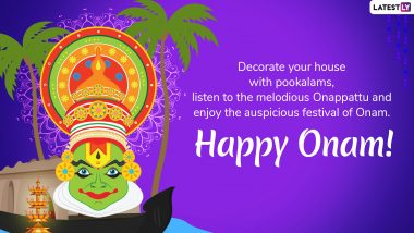 Onam 2019 Messages And Wishes: Send These WhatsApp Stickers, GIF Images, Greetings and SMS to Wish 'Happy Onam'