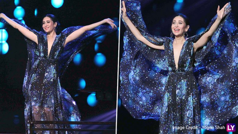 Karisma Kapoor Steps Into Sister Kareena Kapoor Khan's Shoes For Dance India Dance 7, Steals The Show In A Printed Maxi Dress (View Pics)