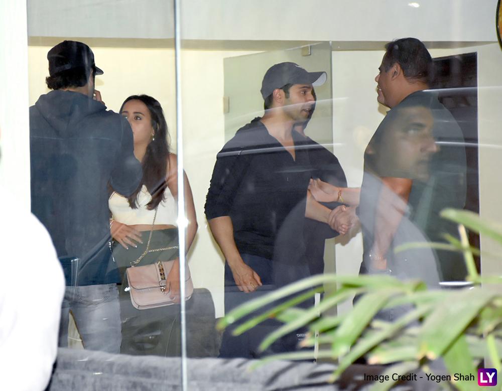 Alia, Ranbir with Varun and Natasha.