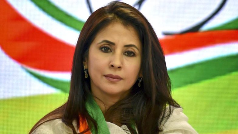 Urmila Matondkar Resigns From Congress Party, Cites 'In-Fighting' in Mumbai Unit as Reason For Quitting