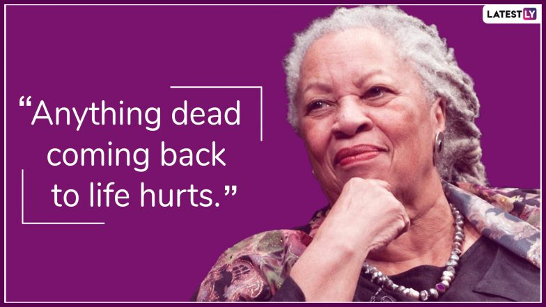 Toni Morrison Quotes: Soul-Stirring Thoughts on Love, Death and Freedom by the Nobel Prize-Winning Writer