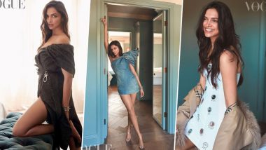 Deepika Padukone's New Photoshoot for Vogue India is all About 'Live Love Laugh' - View Pics