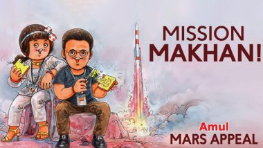 Amul's New Topical on Akshay Kumar's Mission Mangal Has a Mass Appeal, Err, 'Mars Appeal' (See Pic)