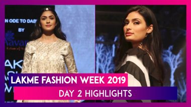 Lakme Fashion Week 2019: Athiya Shetty, Mrunal Thakur And Sumeet Vyas Walk The Ramp On Day 2