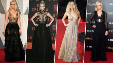 Jennifer Lawrence Birthday Special: 10 of her Best Fashion Outings that Will Inspire all the Budding Fashionistas (View Pics)