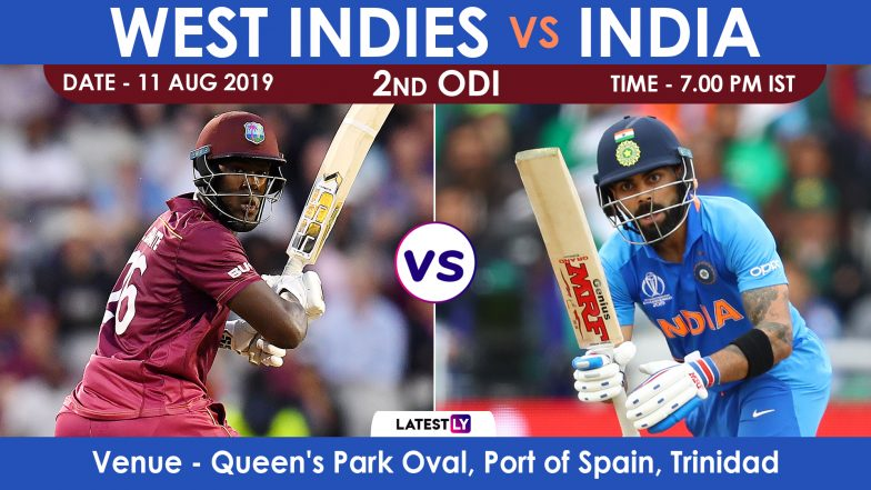 India vs West Indies 2nd ODI 2019 Match Preview: Virat Kohli & Boys Hold Edge Against WI in Trinidad