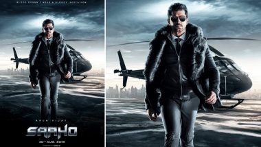 Saaho New Poster: Arun Vijay Is Here and He Doesn't Need a 'Bloody' Invitation to Create Ruckus in Prabhas and Shraddha Kapoor-Starrer - View Pic