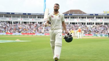 Ashes 2019: Matthew Wade Says, 'An Ashes Century Is a Dream Come True' After Scoring a Hundred in the First England vs Australia Test