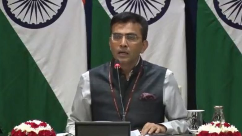 MEA Trashes Pakistan's Letter to UN Alleging Rights' Violation in Kashmir, Says 'Not Even Single Bullet Fired in Valley'